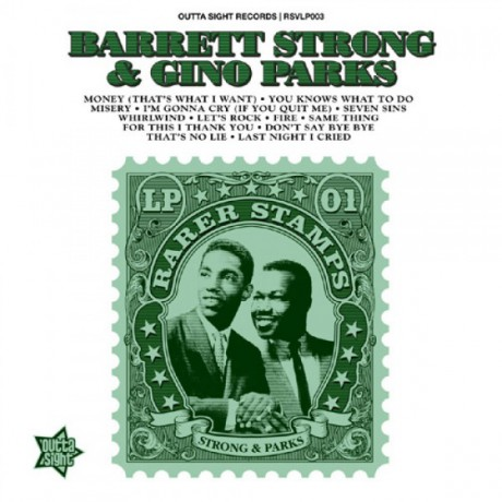 BARRETT STRONG / GINO PARKS Rarer Stamps Volume 1 LP