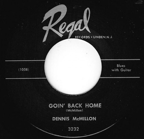 "DENNIS MCMILLON ""GOIN' BACK HOME/ POOR LITTLE ANGEL GIRL"" 7"""
