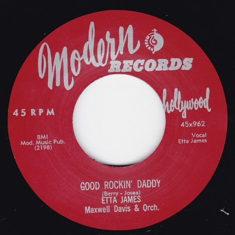 """ETTA JAMES """"GOOD ROCKIN' DADDY/ THE WALL FLOWER (ROLL WITH ME HENRY) 7"""""""