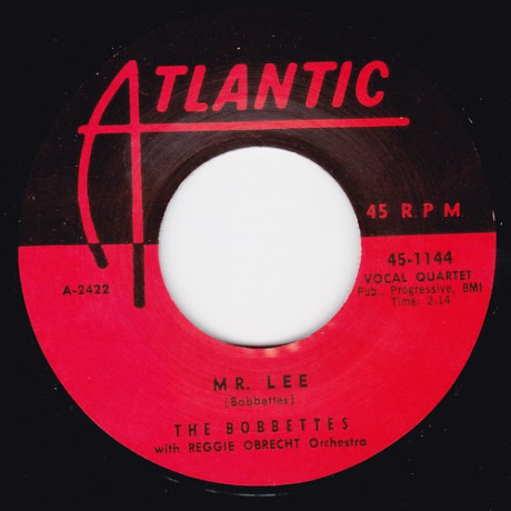 "BOBBETTES ""MR. LEE/ I SHOT MR. LEE"" 7"""