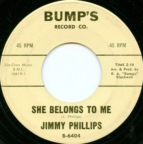 """JIMMY PHILLIPS """"SHE BELONGS TO ME / SHOW ME"""" 7"""""""