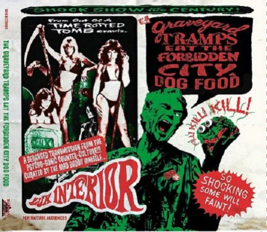 Graveyard Tramps Eat The Forbidden City Dog Food CD