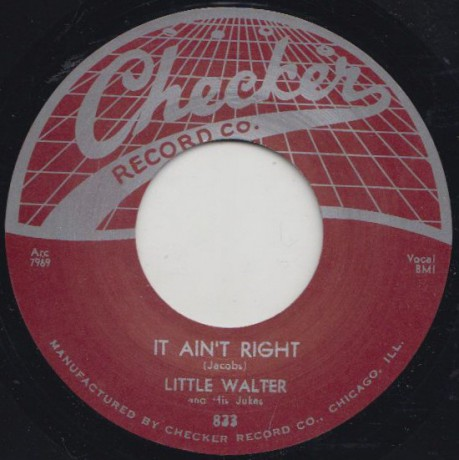 "LITTLE WALTER ""IT AIN'T RIGHT / WHO"" 7"""