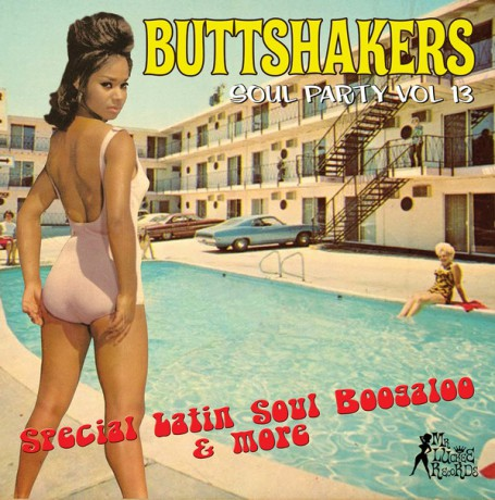 """BUTTSHAKERS!! """"Soul Party Volume 13"""" LP"""