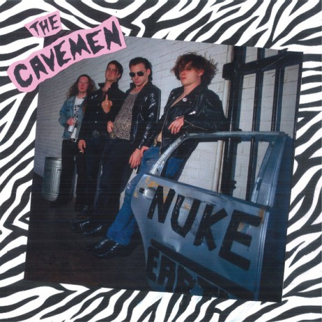 "CAVEMEN ""Nuke Earth"" LP"