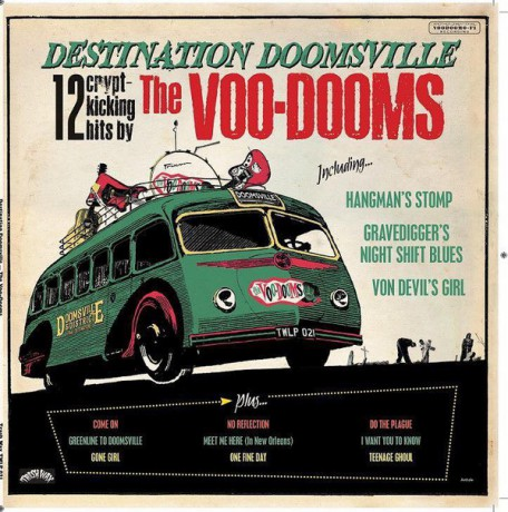 "VOO-DOOMS ""Destination Doomsville"" LP"