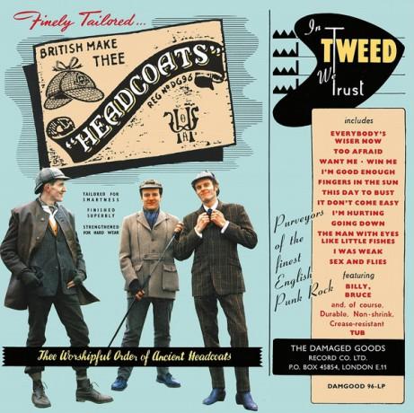 """HEADCOATS """"In Tweed We Trust"""" LP"""