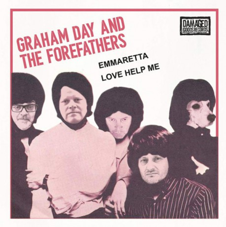 "GRAHAM DAY AND THE FOREFATHERS ""Emmaretta / Love Help Me"" 7"""