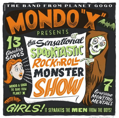 "MONDO X ""The Sensational Spooktastic Rock'n'Roll Monster Show"" LP"