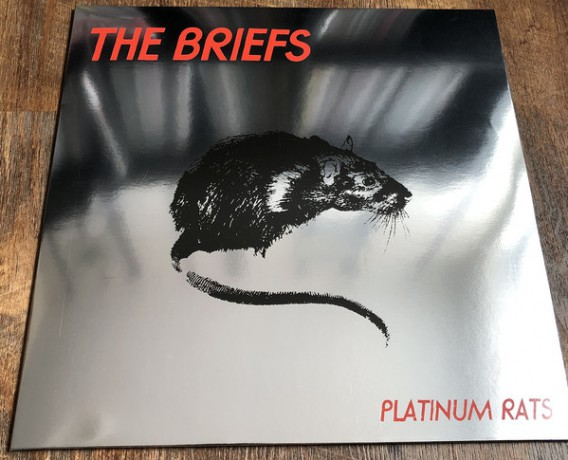 "BRIEFS ""Platinum Rats"" LP"