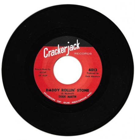 "DEREK MARTIN ""DADDY ROLLIN' STONE / DON'T PUT ME DOWN LIKE THIS"" 7"""