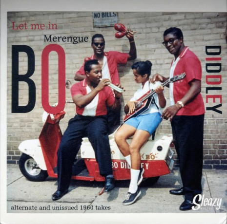 "BO DIDDLEY ""Let Me In / Merengue"" 7"""