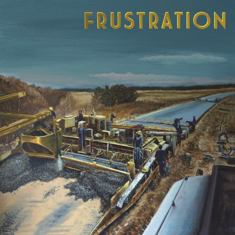 "FRUSTRATION ""So Cold Streams"" LP"
