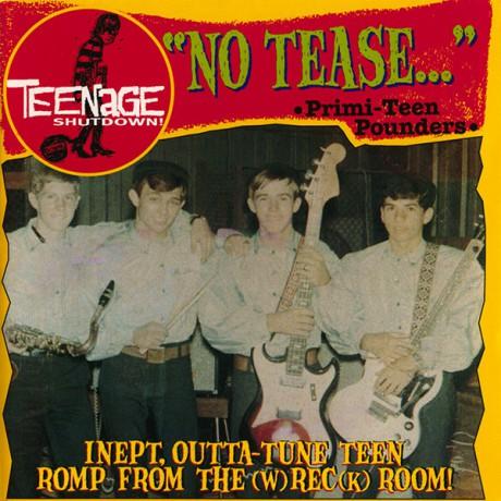 """TEENAGE SHUTDOWN """"No Tease"""" cd"""
