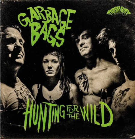 """GARBAGE BAGS """"Hunting For The Wild"""" LP"""