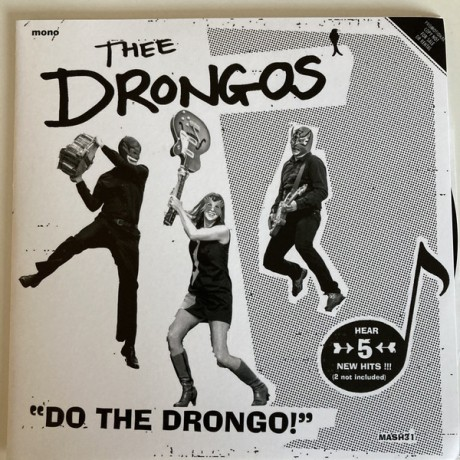 "DRONGOS ""Do The Drongo!"" 7"""