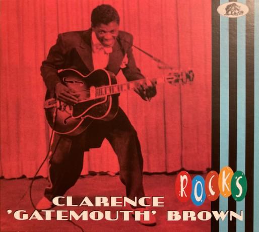 """CLARENCE GATEMOUTH BROWN """"ROCKS"""" CD"""