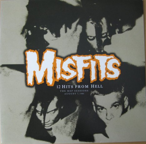 """MISFITS """"12 Hits From Hell: The MSP Sessions"""" LP"""