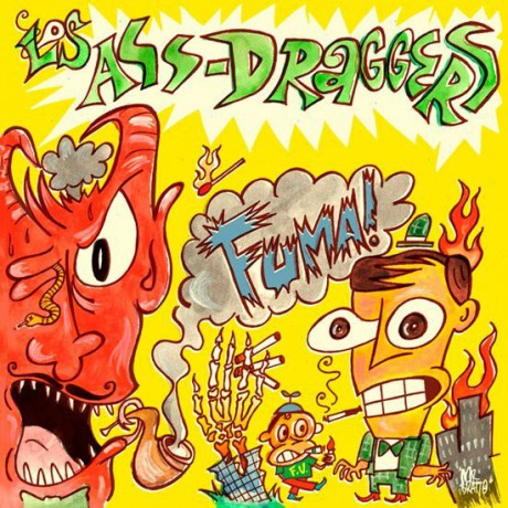 "LOS ASS-DRAGGERS ""Fuma"" LP"