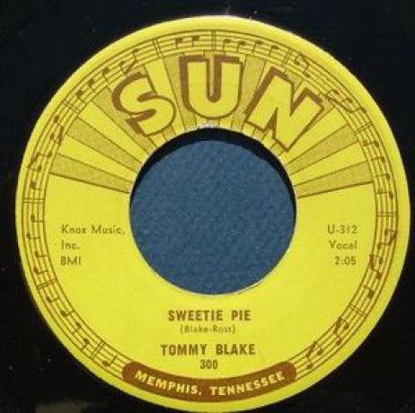 "TOMMY BLAKE ""SWEETE PIE / I DIG YOU BABY"" 7"""