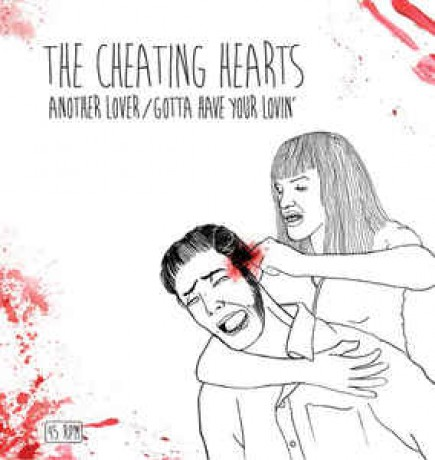 """CHEATING HEARTS """"Another Lover"""" 7"""""""