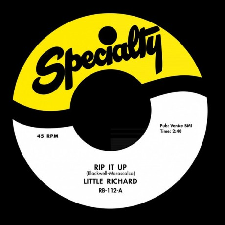 "LITTLE RICHARD ""Rip It Up / Ready Teddy"" 7"""