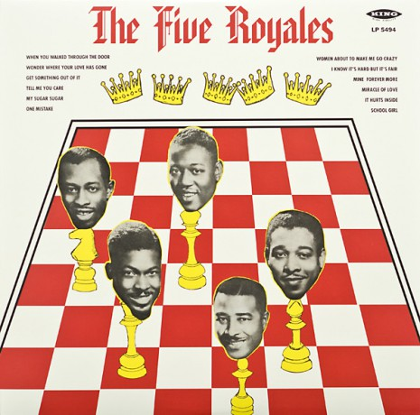 "FIVE ROYALES ""The Five Royales"" 180 Gram LP"
