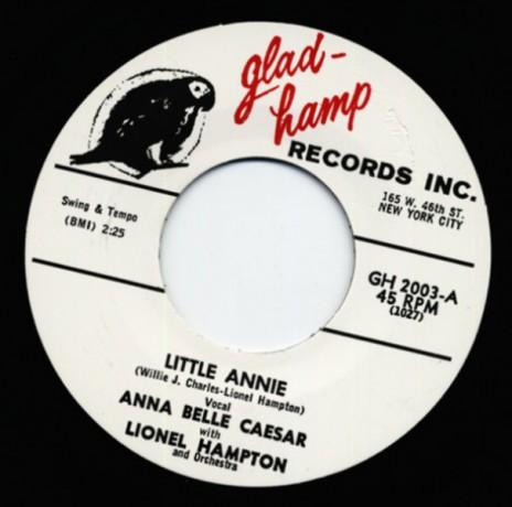 """ANNA BELLE CAESAR """"LITTLE ANNIE"""" 7"""""""