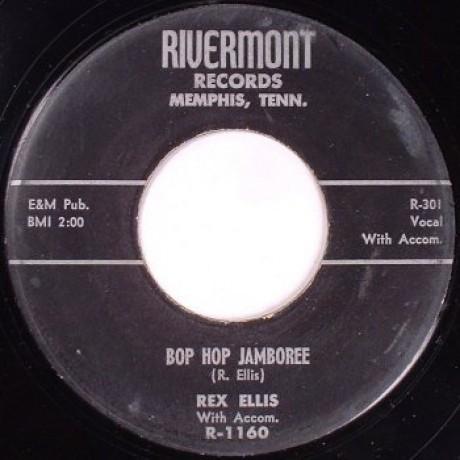 "REX ELLIS ""Bob Hop Jamboree / You'll Be The Last To Know"" 7"""