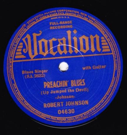 "ROBERT JOHNSON ""LOVE IN VAIN / PREACHIN' BLUES"" 7"""