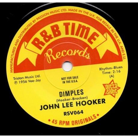 "JOHN LEE HOOKER ""Dimples/ Boom Boom/ She's Mine"" 7"""