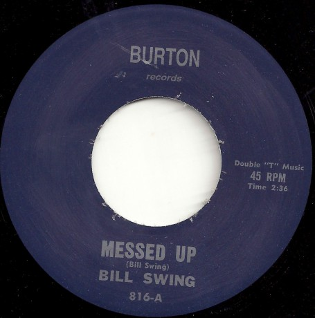 "BILL SWING ""Messed Up/Intoxicating Blues"" 7"""