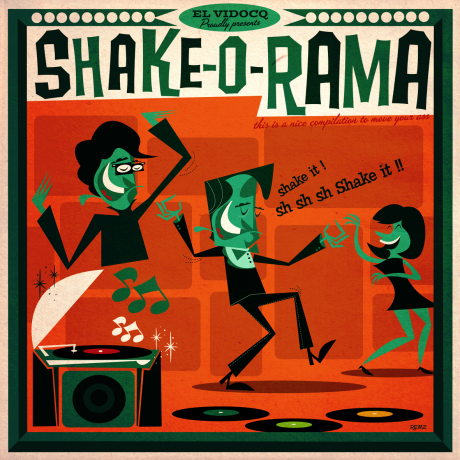 SHAKE-O-RAMA LP+CD