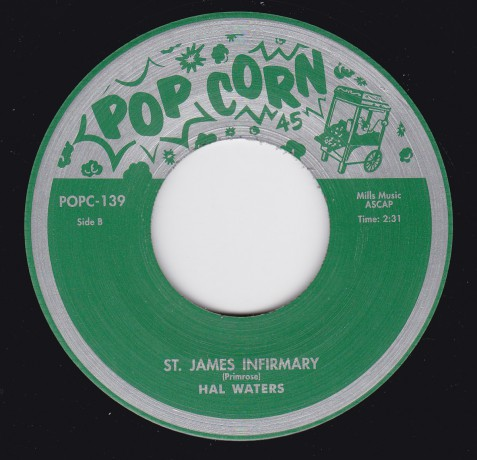 "HAL WATERS ""St James Infirmary"" / GENE STRIDEL ""Let her Go"" 7"""