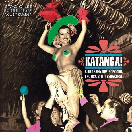 """KATANGA - EXOTIC BLUES & RHYTHM Vol. 1 10"""""""