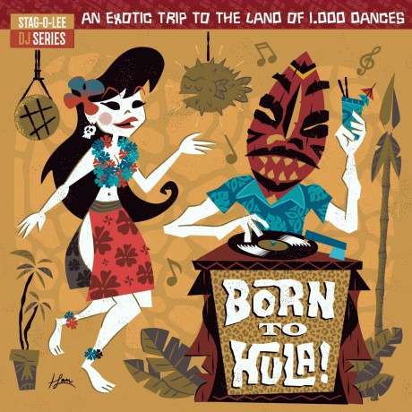BORN TO HULA! Double LP