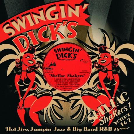 SWINGIN' DICKS: Shellac Shakers Vol. 1+2 CD