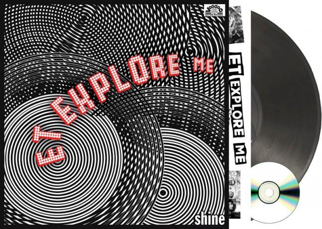 """E.T. EXPLORE ME """"Shine"""" LP+CD"""