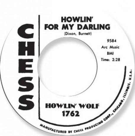 "HOWLIN WOLF ""HOWLIN' FOR MY DARLIN' / SPOONFUL"" 7"""