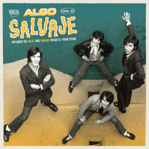ALGO SALVAJE Volume 2 Double LP