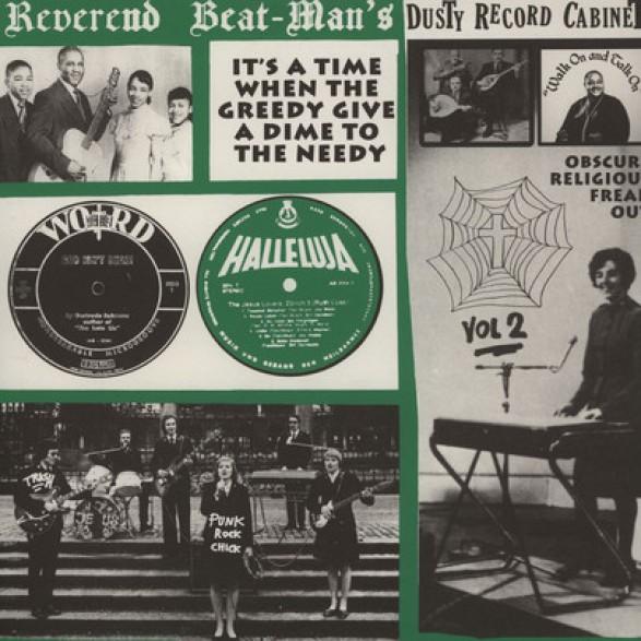 REVEREND BEAT-MAN'S DUSTY RECORD CABINET Volume 2 LP