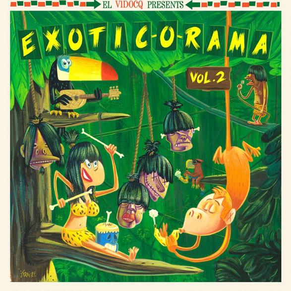EXOTIC-O-RAMA Volume 2 LP+CD