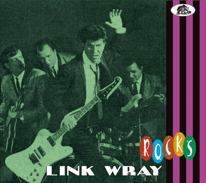 "LINK WRAY ""Link Wray Rocks"" CD"