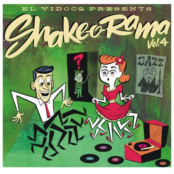 SHAKE-O-RAMA Volume 4 LP+CD