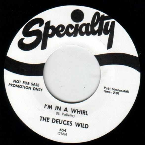 """DEUCES WILD """"I'M IN A WHIRL""""/ NEAL JOHNSON """"TRUE TO YOU BABY"""" 7"""""""