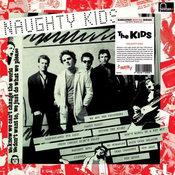 "KIDS ""NAUGHTY KIDS"" LP"