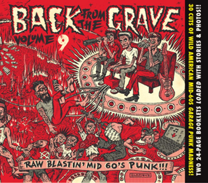 BACK FROM THE GRAVE 9 (& 10) CD