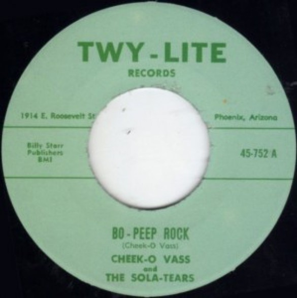 "CHEEK-O VASS ""BO-PEEP ROCK/ DESERT PARTY BLUES"" 7"""
