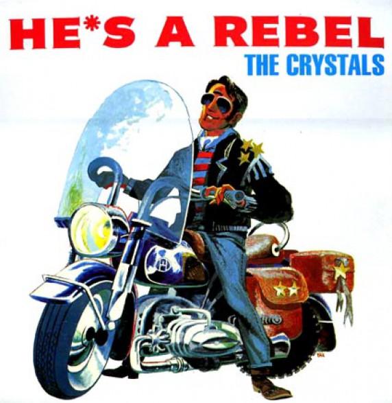 "CRYSTALS ""HE'S A REBEL"" LP"