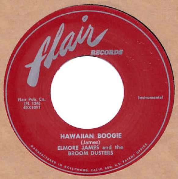 """ELMORE JAMES """"HAWAIIAN BOOGIE / EARLY IN THE MORNING"""" 7"""""""